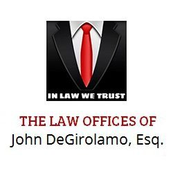 In Law Men Trust Logo